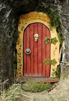 I think we really need to add a fairy/gnome door somewhere in our library. Maybe something that leads to the fairies' own library?