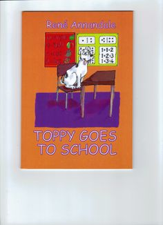 Eric chases Toppy back home, because he is on his way to school. He tells the puppy to count to 10 and by then he should be back from school. But then it dawns on him that the doggie cannot count to 10 because he has never been to school! Eric decides to take Toppy to school for the day. When the puppy nearly gets into big trouble, Eric decides that it would be Toppy's first and last day at school! My Books, Count, Puppies, Reading, Big, School, Cubs, Reading Books, Pup