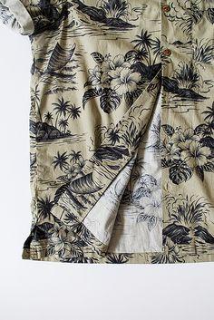"Orn Hansen x Dixon Rand ""Camp Shirt"" - Hawaiian Floral"