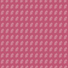 Shop Leaf in Berry Pink fabric by SarahWeldonFRGS at WeaveUp - custom fabric