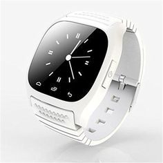 Ace M26 Bluetooth Smart Watch wristwatch smartwatch With LED Alitmeter Music Player Pedometer For Apple IOS Android Smart Phone white * Click on the image for additional details. (This is an affiliate link) #ClipsArmWristbands