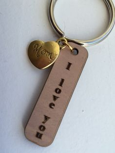Say I Love You keychain.  Mom, Mother's day, gifts for mom, wife, mother, Birthday, Christmas by Lexiandfriends on Etsy