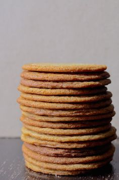 Thin & Chewy Smoked Brown Sugar Cookies