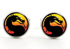 Mortal Kombat Cufflinks
