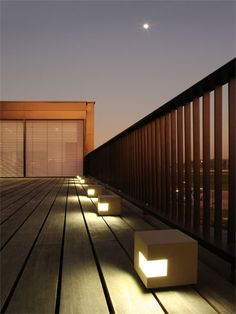 Gutter by Belgian light company Modular Lighting. A favourite of mine for many years. Soon to be placed in our garden.