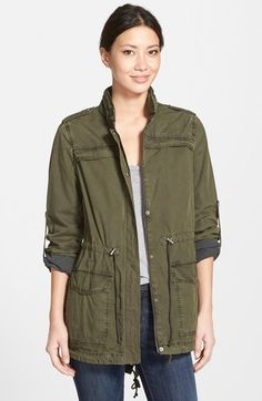Cargo jackets are all the rage right now, you can grab this sweet one from Levi's for a great deal.  Perfect for a casual weekend getaway!