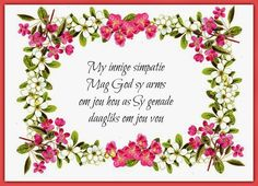 Sympathy Messages, Sympathy Cards, In Loving Memory Quotes, Deepest Sympathy, Goeie More, Words Of Comfort, Memories Quotes, Condolences, Afrikaans