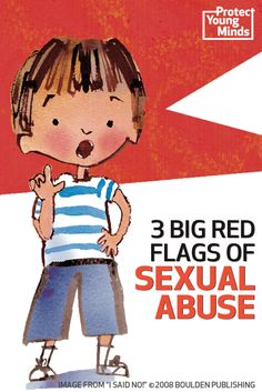 When it comes to sexual abuse, there are 3 big red flags which kids should learn to watch for. These are tactics abusers use to convince a child to...