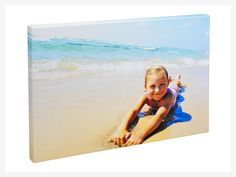 Classic Canvas    Available in 8 sizes  Printed on polycotton canvas  3.8cm wooden frame  Machine stretched  Options to wrap photo around edges  2 working days production time  All PhotoBox Canvas Prints come fully assembled    From £34.99  See our Prices tab for great discounts on bulk purchases of more than 5 units