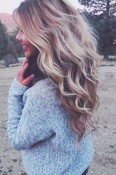THESE #beachy #waves ♥