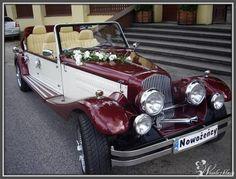 Samochody do ślubu zabytek Cabriolet Retro Replika, 3