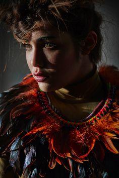 Vibrant orange, Nadia Dafri jewellery l #ethnictrends