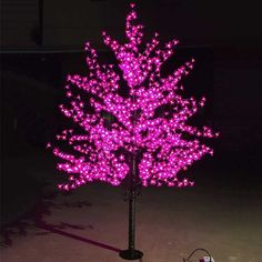 181.17$  Buy now - http://alieqv.worldwells.pw/go.php?t=32418913147 - Outdoor Waterproof Artificial 1.5M Led Cherry Blossom Tree Lamp 480LEDs Christmas Tree Light for Home Festival Decoration