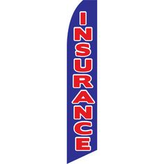NeoPlex Insurance Swooper Flag Color: