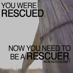 Rescued.