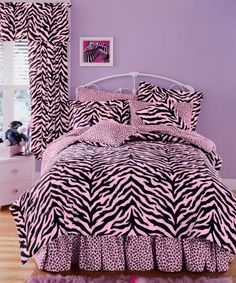 Luxe Crib bedding/Zebra / Pink/ Black with white polka dots/ OR YOU CHOOSE