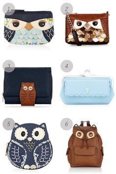 Owls Bags by Accessorize