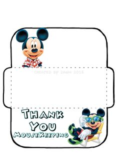 My own MouseKeeping envelope, based on a design found here… Disney World Planning, Disney World Vacation, Disney Cruise, Disney Vacations, Disney Parks, Walt Disney, Disney Dream, Disney Style, Disney Love