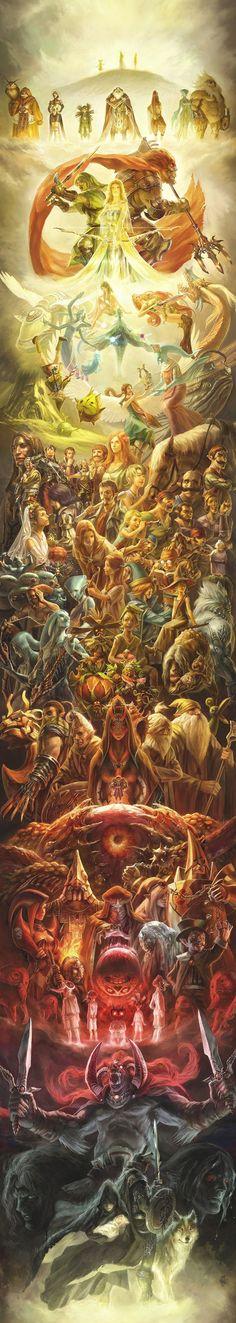 ag+ - Obra en conmemoración al 25to. aniversario de la saga The Legend of Zelda [2011]. (http://www.pixiv.net/member_illust.php?mode=medium_id=16868303)
