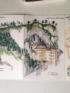 Matite in viaggio in Slovenia: castello di Predjama