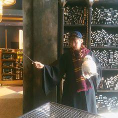 [Instagram] 160406 leeseongyeol_1991: 호그와트 다닐거야 || I go to Hogwarts