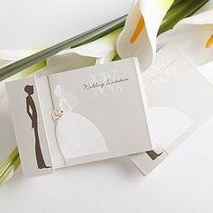 convite de casamento da noiva e do noivo projeto (conjunto de 50) – BRL R$ 83,37