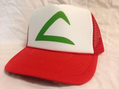 Easy and Quick Halloween low cost Costume Ash Ketchum Pokemon Trucker Hat  Mesh Hat Snap Back 695cb10d0f8