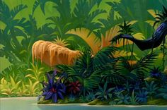 Jungle Back Drop | disney crossover Empty Backdrop from The Lion King
