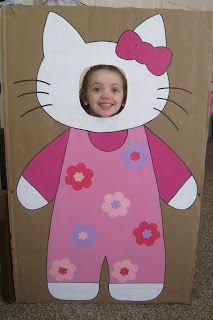 Hello Kitty photo booth and birthday party ideas