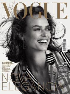 0e49ff48c8a2 Birgit Kos on Vogue Brazil June 2018 Cover Кос, Обложки Вог, Модный Дизайн,