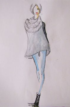 Croquis 2014 Fashion Sketches, Art Photography, Fashion Inspiration, Concept, Drawings, Model, Design, Sketch, Fashion Sketchbook