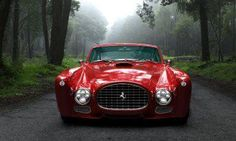 FERRARI F340 GULLWING RED ART HUGE  LARGE PICTURE POSTER GIANT
