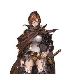 Granblue Fantasy Black Knight Apollonia #1