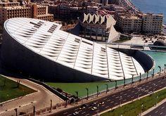Alexandria, Egypt    Bibliotheca Alexandrina