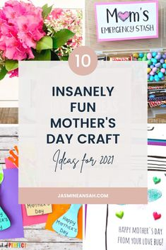 Easy Mother's Day Crafts, Mothers Day Crafts For Kids, Crafts For Kids To Make, Happy Mothers Day, Baby Crafts, Toddler Crafts, Preschool Crafts, Fireflies Craft, Mothers Day Flower Pot