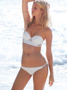 Costumi Da Bagno Due Pezzi 2015 Collezione Victorias Secret Scollo A Cuore