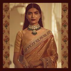 "14.8k Likes, 26 Comments - Sabyasachi Mukherjee (@sabyasachiofficial) on Instagram: ""A classic Sabyasachi Kanjeevaram silk saree woven by the master weavers of Kanchipuram with hand-…"""