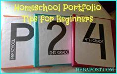 Homeschool Portfolio Tips for Beginners - The HSBA Post