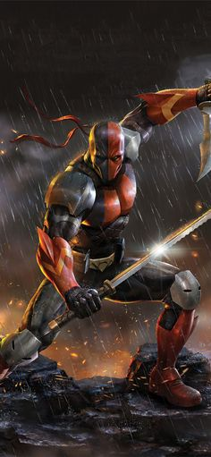 deathstroke knights and dragons 5k iPhone 11 Wallpapers