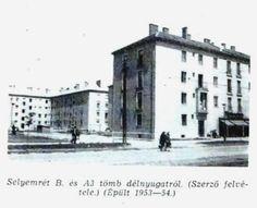 Selyemrét B és A3 tömb fotó: ifj. Horváth Béla forrás: Borsodi Műszaki Élet 1957 okt.