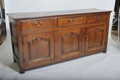 Antique Oak Dresser 18th century Welsh