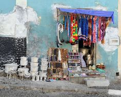 Street Shop in São Filipe, island of Fogo, Cape Verde