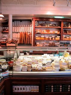 Cheeses, Charcuterie, Pickles, Olives, Spreads, Preserves, and Chocolate...just add wine and it's perfect!!