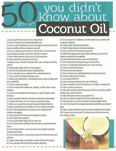 Coconut Oil Uses - Doctors Lack of Nutrition Knowledge 9 Reasons to Use Coconut Oil Daily Coconut Oil Will Set You Free — and Improve Your Health!Coconut Oil Fuels Your Metabolism! Herbal Remedies, Health Remedies, Natural Remedies, Benefits Of Coconut Oil, Uses For Coconut Oil, Cooking With Coconut Oil, Coconut Oil For Body, Coconut Oil Dark Circles, Coconut Oil Scalp