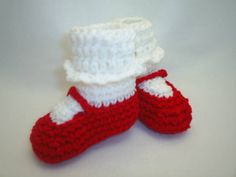 Mary Jane Booties perfect for Valentine's Day by BestDressedBaby, $12.00
