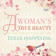 Healthy Beauty Quotes, Woman Quotes, Girl Power, Reflection, Sayings, Words, Happy, Inspiration, Healthy