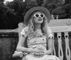 """Oh, I'm so cool."" - Hannah Murray as Cassie Ainsworth in ""Skins"", 2007."