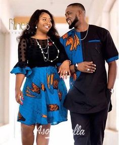 Ankara styles for couples 2018 Latest African Styles - Ankara styles for couples 2018 Latest African Styles - Couples African Outfits, Couple Outfits, African Attire, African Wear, African Women, African Dress, African Style, African Lace, African Fashion Designers
