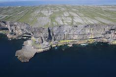 Cliffs beside Dun Aonghasa Aran Islands Ireland, Wordpress Admin, Irish Blessing, Grand Canyon, Sunset, Blessings, Travel, Instagram, Viajes