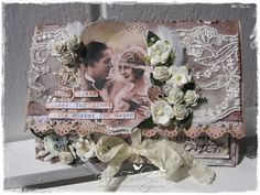 Elins Hobbykrok: Bryllupskort for LLC